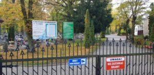 Cmentarz - wejście